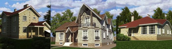 Пример 3D домов
