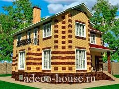 Дом с полноценными этажами и тремя спальными