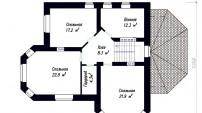 План.Второй этаж.