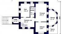 План.Первый этаж.