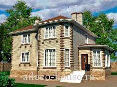 Дом с просторной террасой